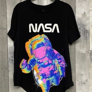NWOT Space Astronaut NASA Graphic Tee XL